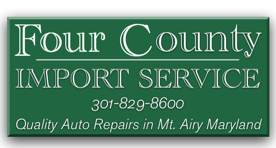 Four County Import Service – Quality Auto Repair, Brake Repair, Oil Change, Routine Maintenance in Mt. Airy, MD